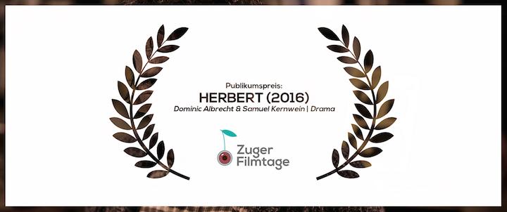 Herbert Publikumspreis bei den Zuger Filmtagen