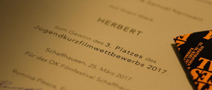 Herbert bei Landshut Short Film Festival